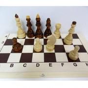 Шахматы большие лакированные недорогие Гроссмейстерские круглая цена